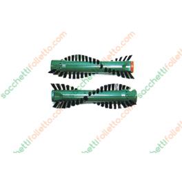 Coppia spazzole setola Vorwerk Folletto cod. 04975